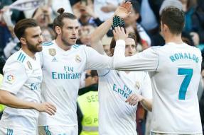 La Liga: Messi, Ronaldo, Bale Make Merry as Barca And Real Register Thumping Wins