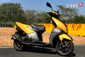 TVS Ntorq 125 First Ride Review - India's First Performance Scooter