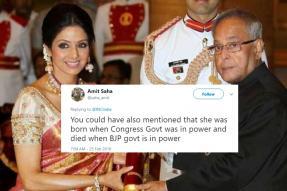 Congress Tweet Mourning Sridevi's Demise Invites Flak From Twitterati