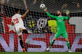 Champions League: De Gea Steals Show as Man United Earn Draw in Seville
