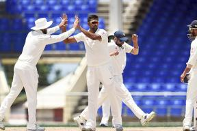 India vs West Indies Live Score: Ashwin Strikes After Lunch