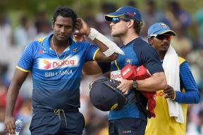 Australia Pacer Scott Boland Bouncer Breaks Sri Lanka's Angelo Mathews Helmet