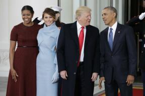 Trump Inauguration Live: Obamas, Trumps Leave White House for Capitol Hill