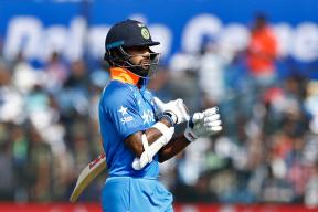 West Indies vs India Live Cricket Score: Shikhar Dhawan Falls for 87