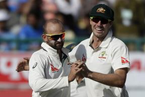 Nathan Lyon Picks Four as Match Evenly Poised on Day 2