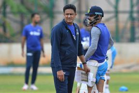 Kohli Deletes Old Tweet Welcoming Anil Kumble As India Coach