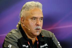 Vijay Mallya Taking Steps to Remove 'India' From F1 Team Name