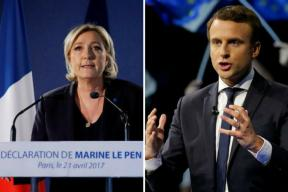 French Presidential Elections: Le Pen, Macron Leading The Race