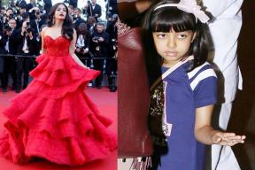 Aaradhaya Steals the Thunder From Mom Aishwarya at Cannes 2017