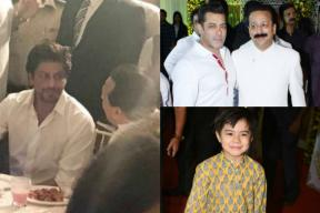 Matin Rey Tangu Joins SRK, Salman Khan At Baba Siddique's Iftar party