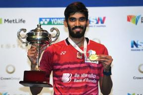 Srikanth Beats Olympic Champion Chen Long to Win Fourth Superseries