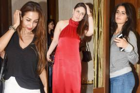 Kareena, Katrina To Malaika: B-Town Celebrities Attend Manish Malhotra's Bash