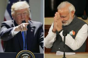 Jab They Shake Hands: It's Modi's Iron Grip vs Trump's Power Move