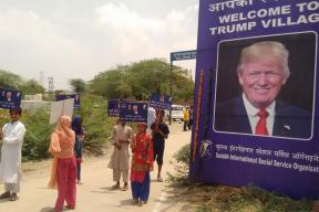 As Modi Meets POTUS, People in 'Trump Village' Eagerly Await Toilets