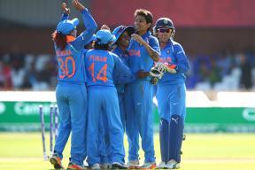 India vs Australia Live Cricket Score, ICC Women's Cricket World Cup: Pandey Castles Mooney