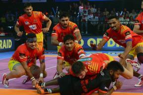 Pro Kabaddi League, Live Score, U Mumba vs Gujarat Fortunegiants