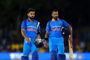 Shikhar Dhawan & Virat Kohli Take India Home With 9 Wkts in Bag
