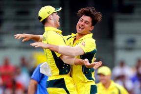 Live, India vs Australia, Full Cricket Score, 2nd ODI at Kolkata: Agar Sends Back Pandey
