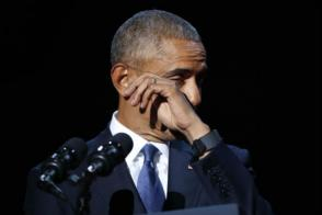 Yes We Did, Says Obama in Emotional Speech; Thanks Everyone