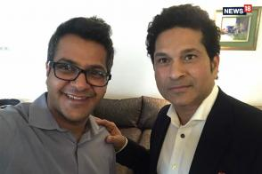Sachin Tendulkar Talks About Make In India Tech And srt.phone