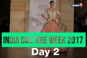 Disha Patani Slays In A Manav Gangwani Ensemble At ICW 2017