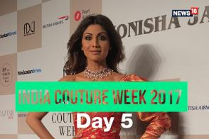 Shilpa Shetty oozes glamour in Monisha Jaising Ensemble; Varun Bahl presents Dream Nouveau