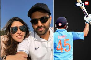 Rohit Sharma Dedicates 3rd ODI 200 to Wife on Wedding Anniversary
