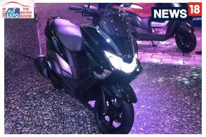 Auto Expo 2018: First Look of Suzuki Burgman Street 125 at Auto Expo
