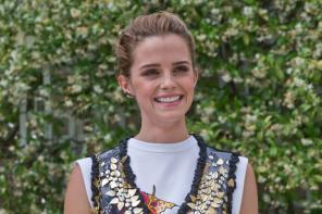 Emma Watson at Paris Fashion Week