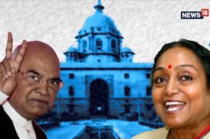 Race to Rashtrapati Bhavan: Ram Nath Kovind vs Meira Kumar