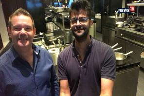 MasterChef Australia's Chef Gary Mehigan in Delhi