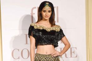 Disha Patani at India Couture Week 2017