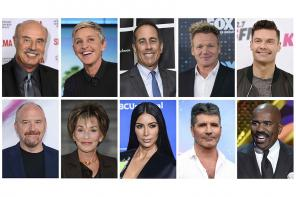 Forbes Top 10 TV's highest-paid entertainers in 2017