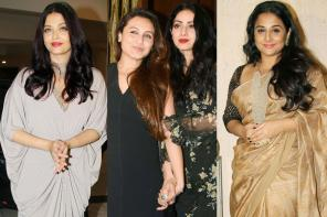Aishwarya Rai Bachchan, Rani Mukerji at Sridevi's Birthday Celebration