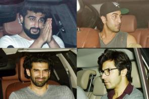 Star Spotting: Hrithik Roshan, Amitabh Bachchan, Shraddha Kapoor, Sanjay Dutt, Varun Dhawan...