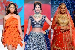 Yami Gautam, Vaani Kapoor, Dia Mirza at India International Jewellery Week 2017