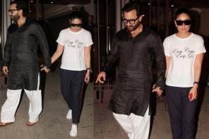 Star Spotting: Kareena Kapoor Khan and Saif enjoy a romantic outing