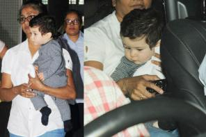 Celebrity Airport Sightings: Taimur Ali Khan's Cutest Pictures