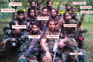 Remember Burhan's Hizbul Group Photo? After Sabzar, Now Just 3 Left