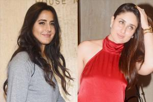 Kareena Kapoor, Katrina Kaif at Manish Malhotra's Party