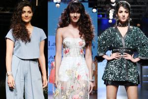 LFW 2017: Bollywood Celebrities at Lakme Fashion Week in Mumbai