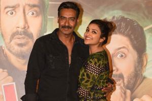 Ajay Devgn, Parineeti Chopra at 'Golmaal Again' Trailer launch event