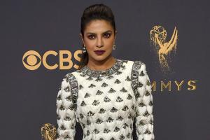 Priyanka Chopra at 2017 Emmy Awards Show