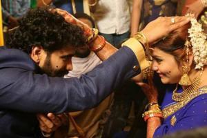 Actress Namitha Weds Veerandra Chowdhary in Tirupati
