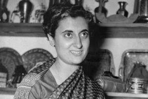 Rare Photos of Indira Priyadarshini Gandhi