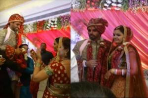 Bhuvneshwar Kumar and Nupur Nagar's Wedding Pictures