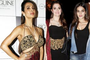 B-Town Divas at Rebecca Dewan's Fashion Collection Launch