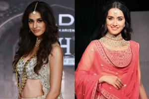 Disha Patani, Shraddha Kapoor Walk the Runway at Fashion Show
