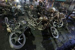 Protests Against Padmaavat: Vehicles Set on Fire by a Mob