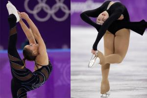 Unbelievable Stretches by The Skaters at Winter Olympic 2018